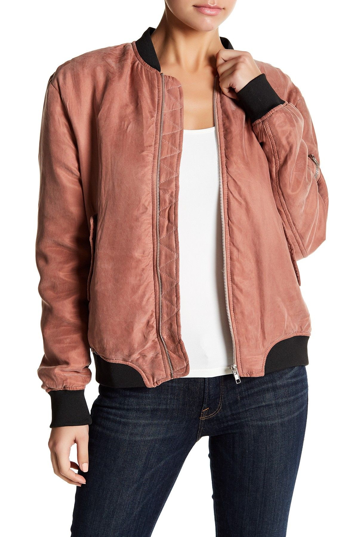 Faux Suede Bomber Jacket By Emory Park On Nordstrom Rack Bomber Jacket Suede Bomber Jacket Jackets [ 1800 x 1200 Pixel ]