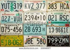 Image Result For Old Car Number Plate Font Nummerplaat