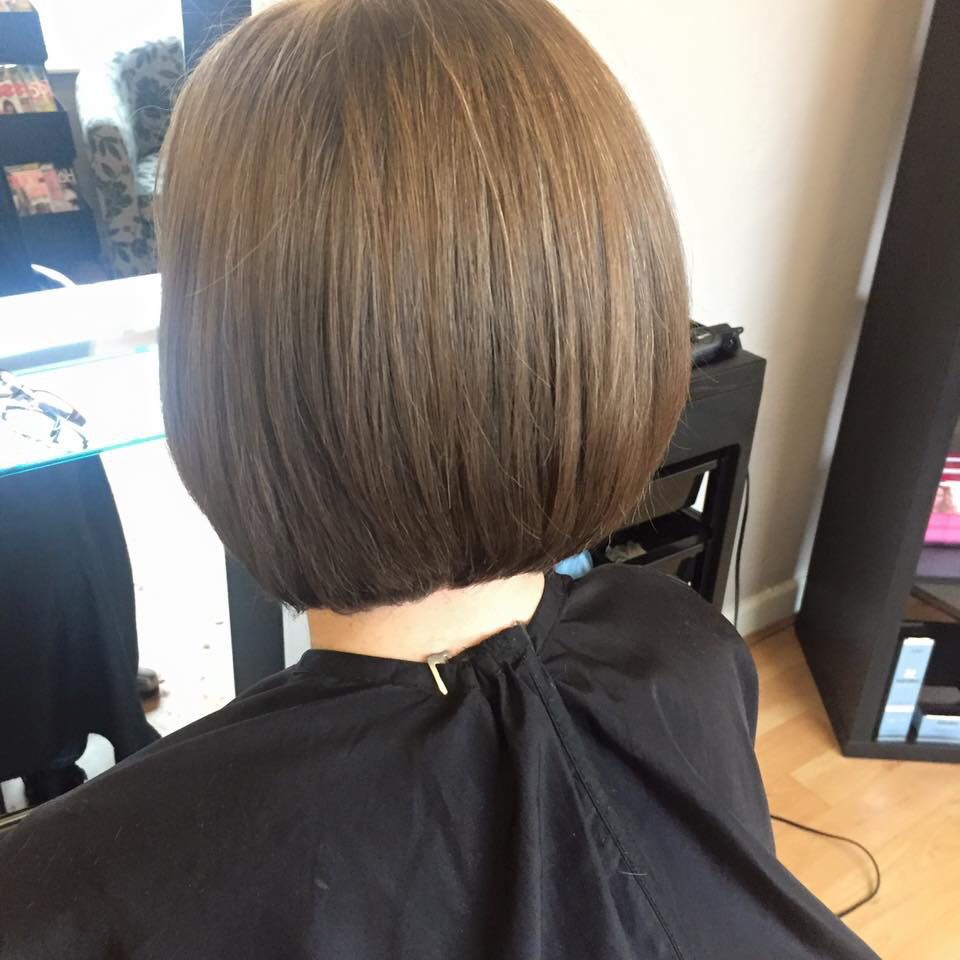 Sophisticated and tidy Bob!