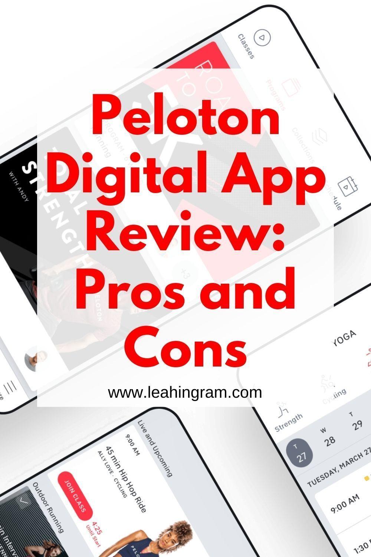 Peloton Digital App Review In 2020 Workout Plan App Peloton App Reviews