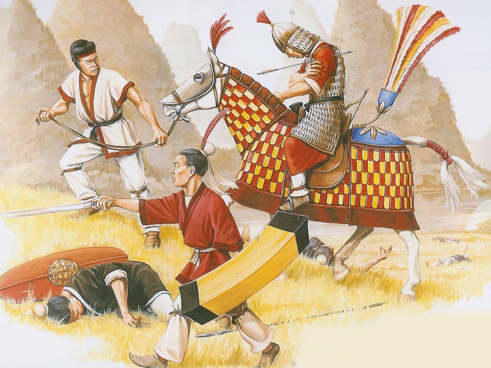 картинки воины китая заклад