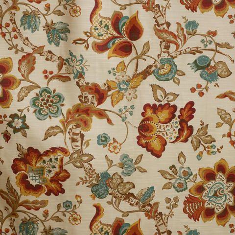 Multicolor Floral Malli Sleevetop Curtain | World Market ...
