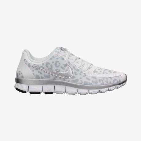Nike Free 5.0 V4 Femmes Chaussures De Course Léopard