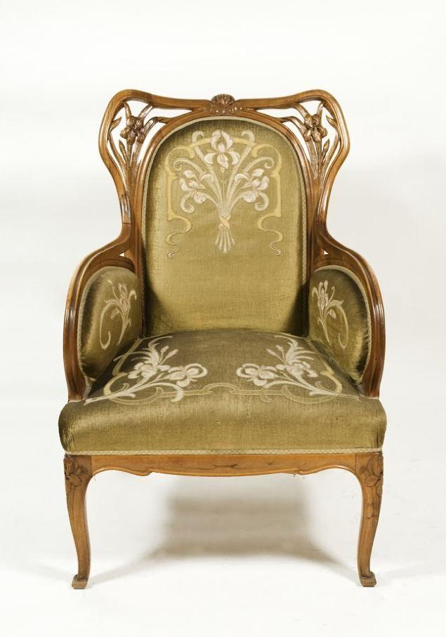 Art-Nouveau Armchair 1901 - 1926 Louis Majorelle Museo Nacional