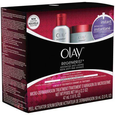 Olay Regenerist Microdermabrasion & Peel System Microdermabrasion Facial Treatment 1 Kit, Multicolor