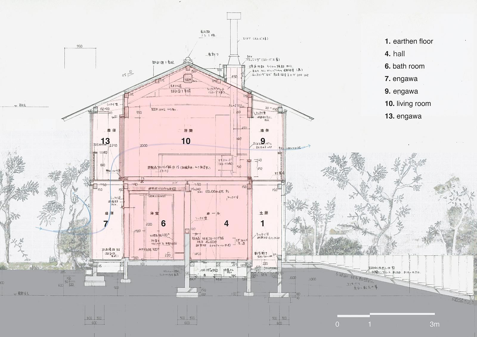 Blueprint of a traditional japanese house buscar con google blueprint of a traditional japanese house buscar con google malvernweather Image collections