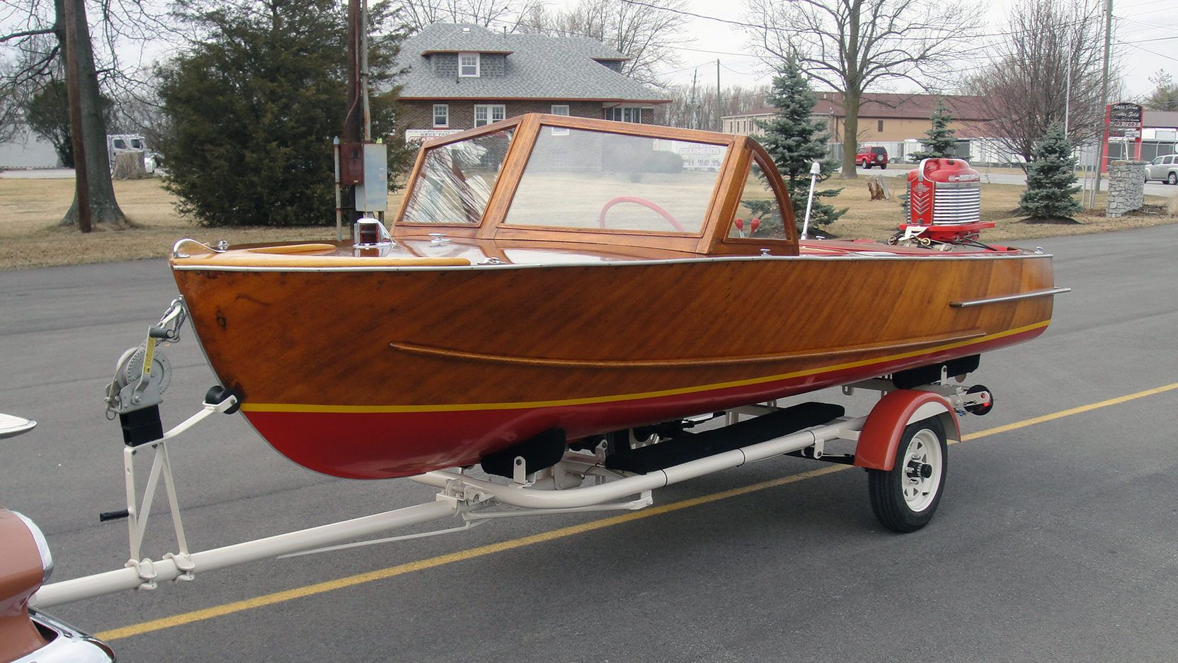 1957 Milocraft 14.5 Foot Runabout presented as Lot F167.1