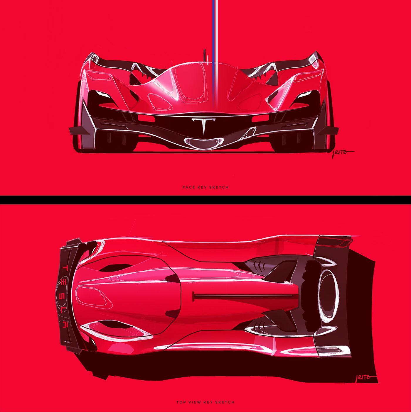 TESLA: LE MANS 2030 On Behance