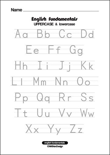 Match Uppercase And Lowercase Letters – 13 Worksheets / FREE ...