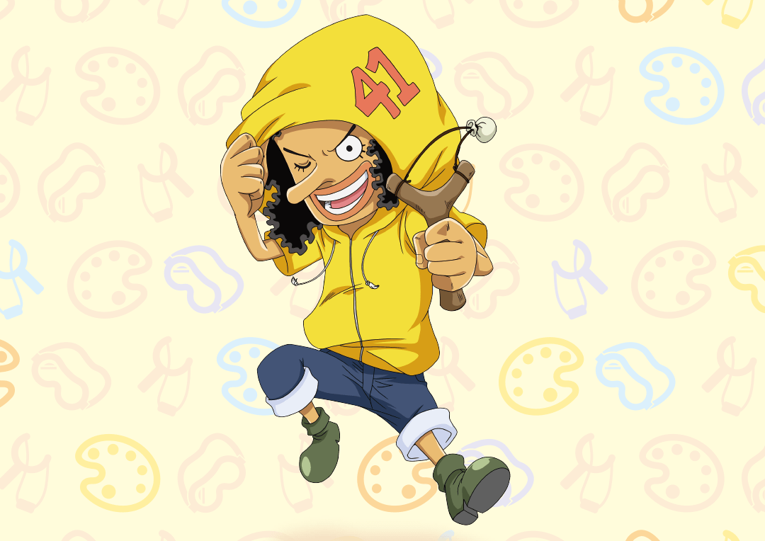 One Piece King | One piece main characters, One piece crew, Usopp