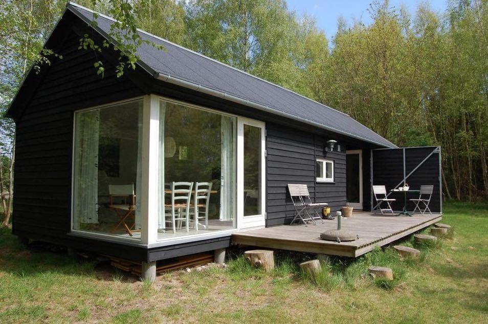 592 Sq Ft Modular Tiny Home By Mon Huset Tinyhomes In 2020 Small Modular Homes Small House Tiny House Living