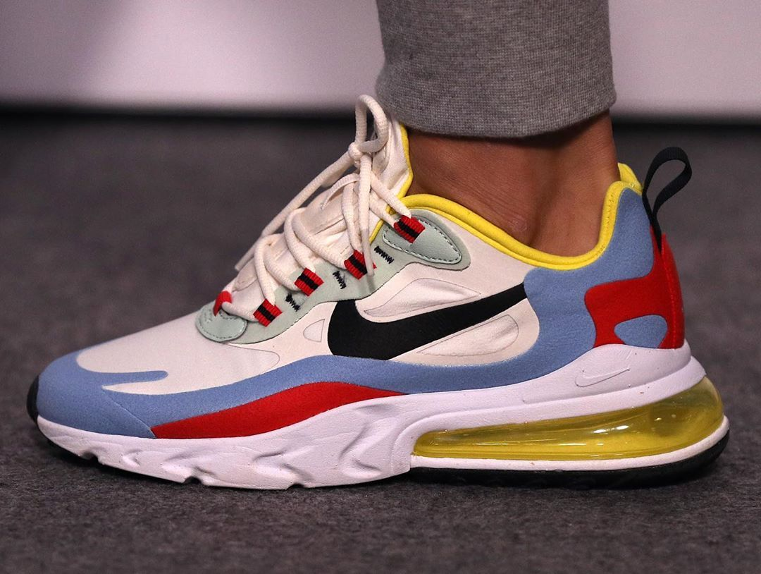 p close with the Nike Air Max 270 React debuted by ...