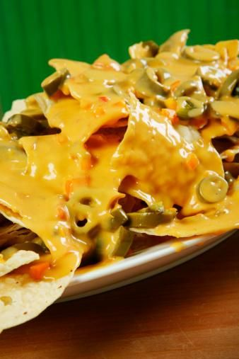 Photo of Spicy jalapeno nachos with cheese