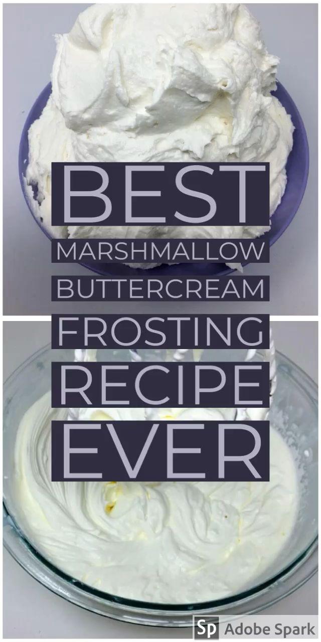 Vegan Marshmallow Buttercream Frosting - Any reason vegans