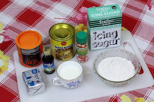 My Cake Ingredients
