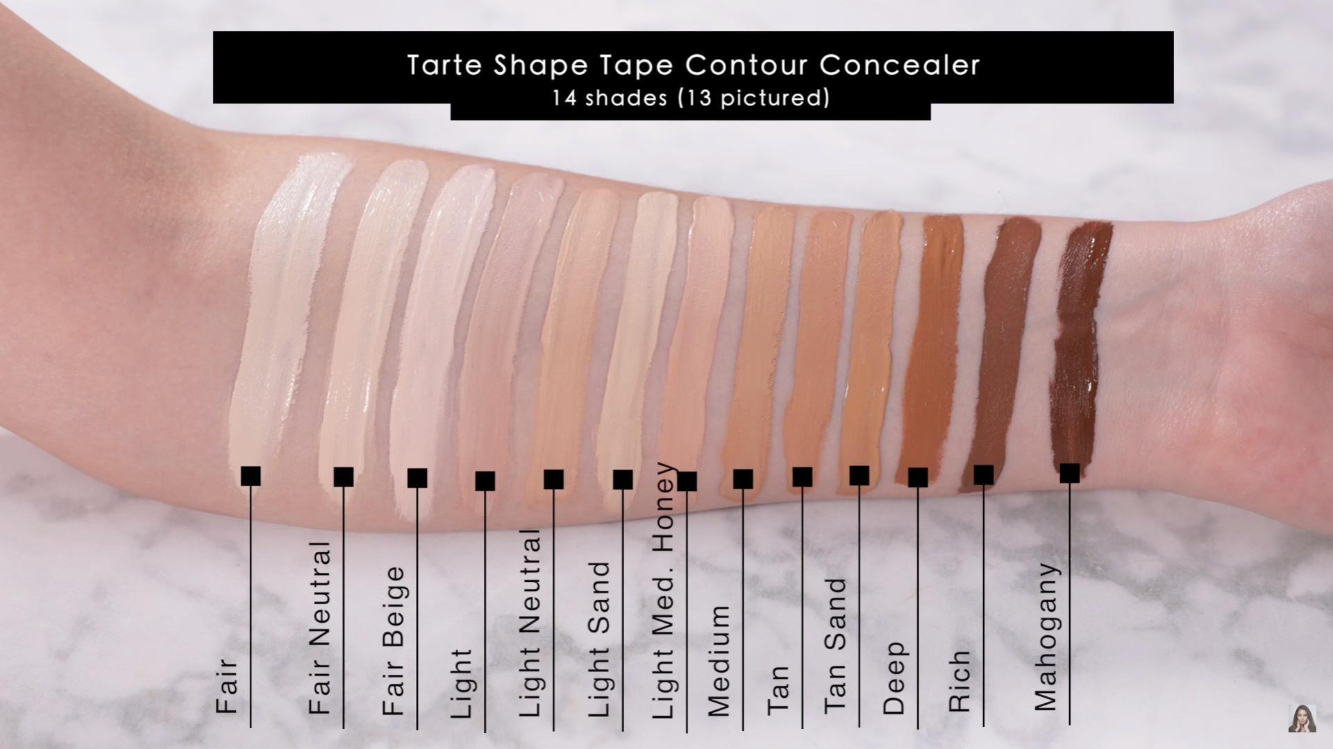 Nars Soft Matte Complete Concealer Vs Tarte Shape Tape