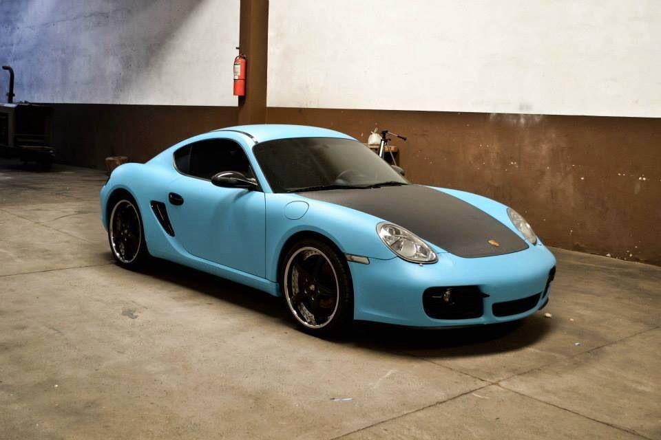 Matte sky blue porsche vvivid vinyl   Cars   Maserati, Lamborghini, Audi