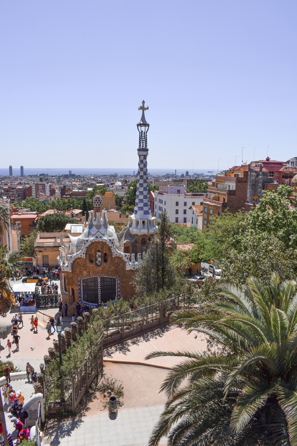 Barcelona Park Güell And Sagrada Familia Architectuur