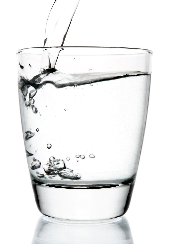 Beber mais água!