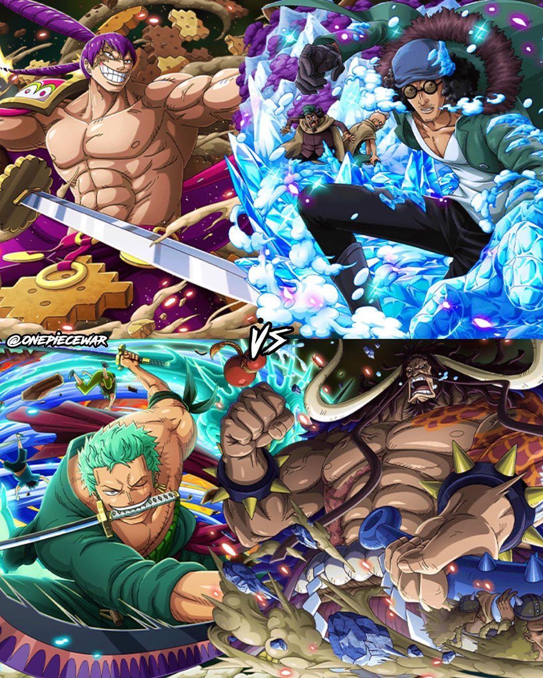 Full Power Battle One Piece Anime Battle