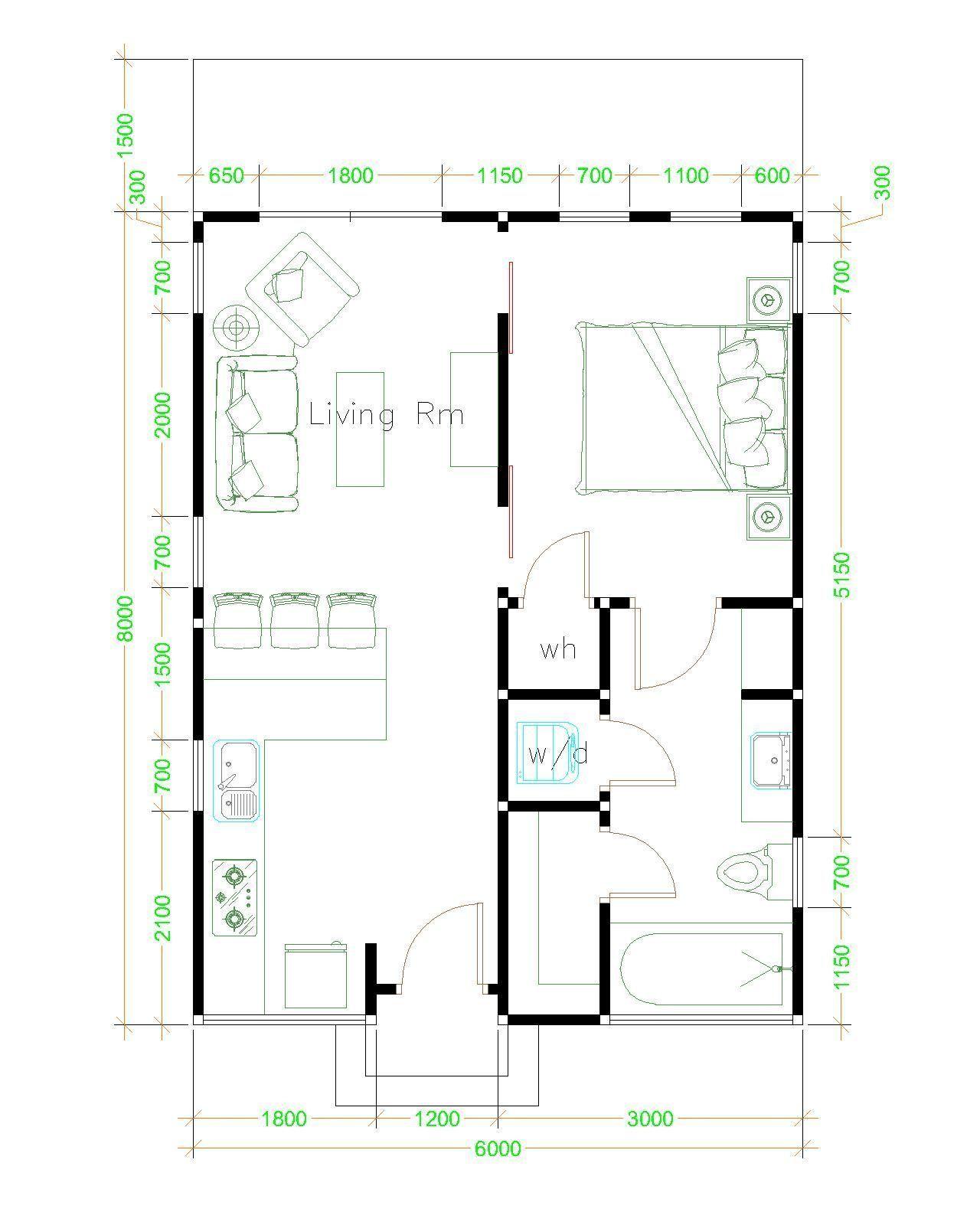 Studio Cottage Floor Plans