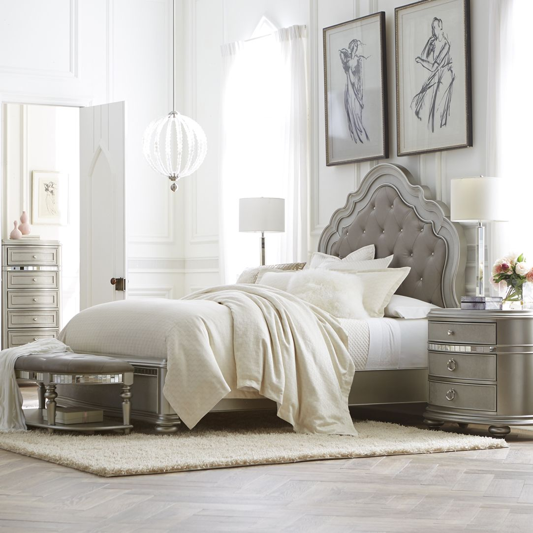 Introduce sophisticated style into your bedroom with the