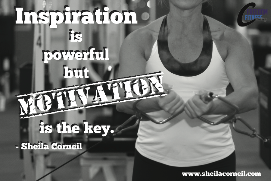 Inspiration Is Powerful But Motivation Is Key Fitness Motivation Inspiration Workhard Reachyourgoals Health