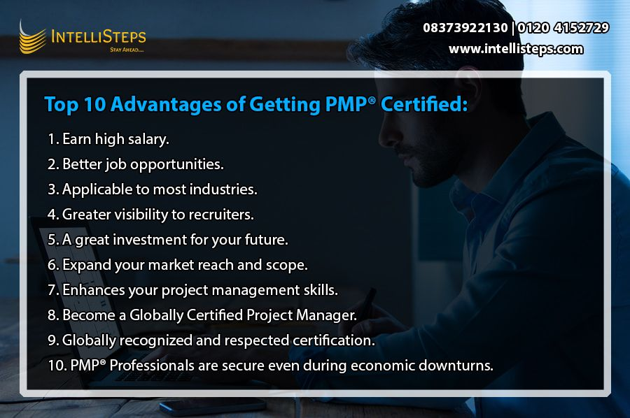 Top 10 Advantages Of Getting Pmp Certified Management Skills Project Management Certification Training Classes