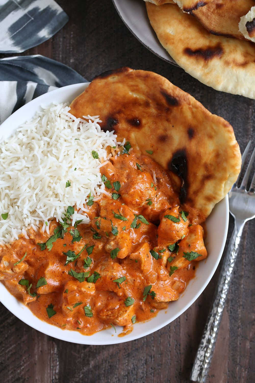 Indian Butter Chicken Murgh Makhani  Indian Food -2714