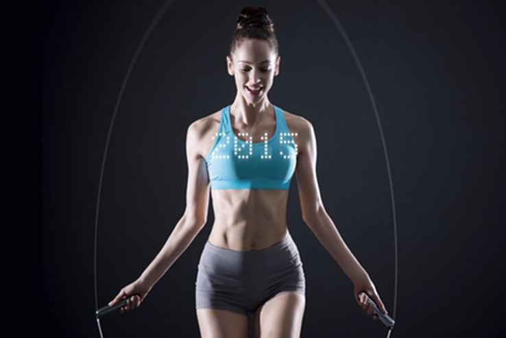 On the surface, the Smart Rope is just like any other Jump Rope; a piece of rope that weighs next to nothing yet can make you burn up to the same number of calories that can be burned in an 8 mile run.
