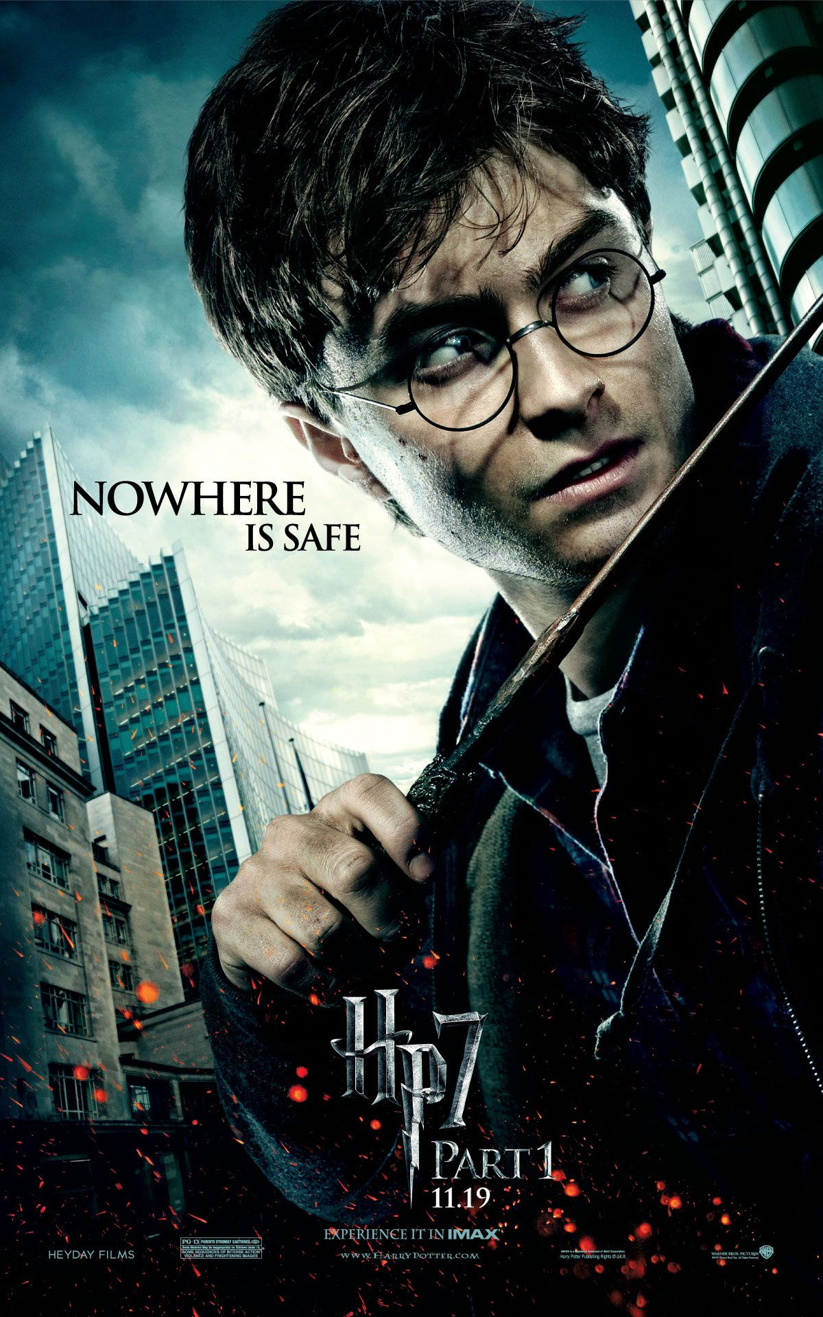 Harry Potter And The Deathly Hallows Part 1 Peliculas De Harry Potter Poster De Peliculas Afiche De Harry Potter