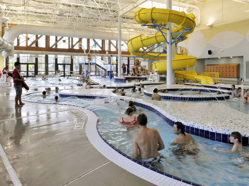 Kroc Coeur d'Alene Leisure Pool; Barker Rinker Seacat Architecture,  Architects West,