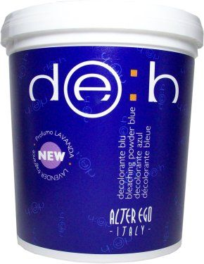 Alter Ego Deb Bleaching Powder Blue 500gr / 17.6oz (For Streaks and Highlights) justbeautyproducts.com