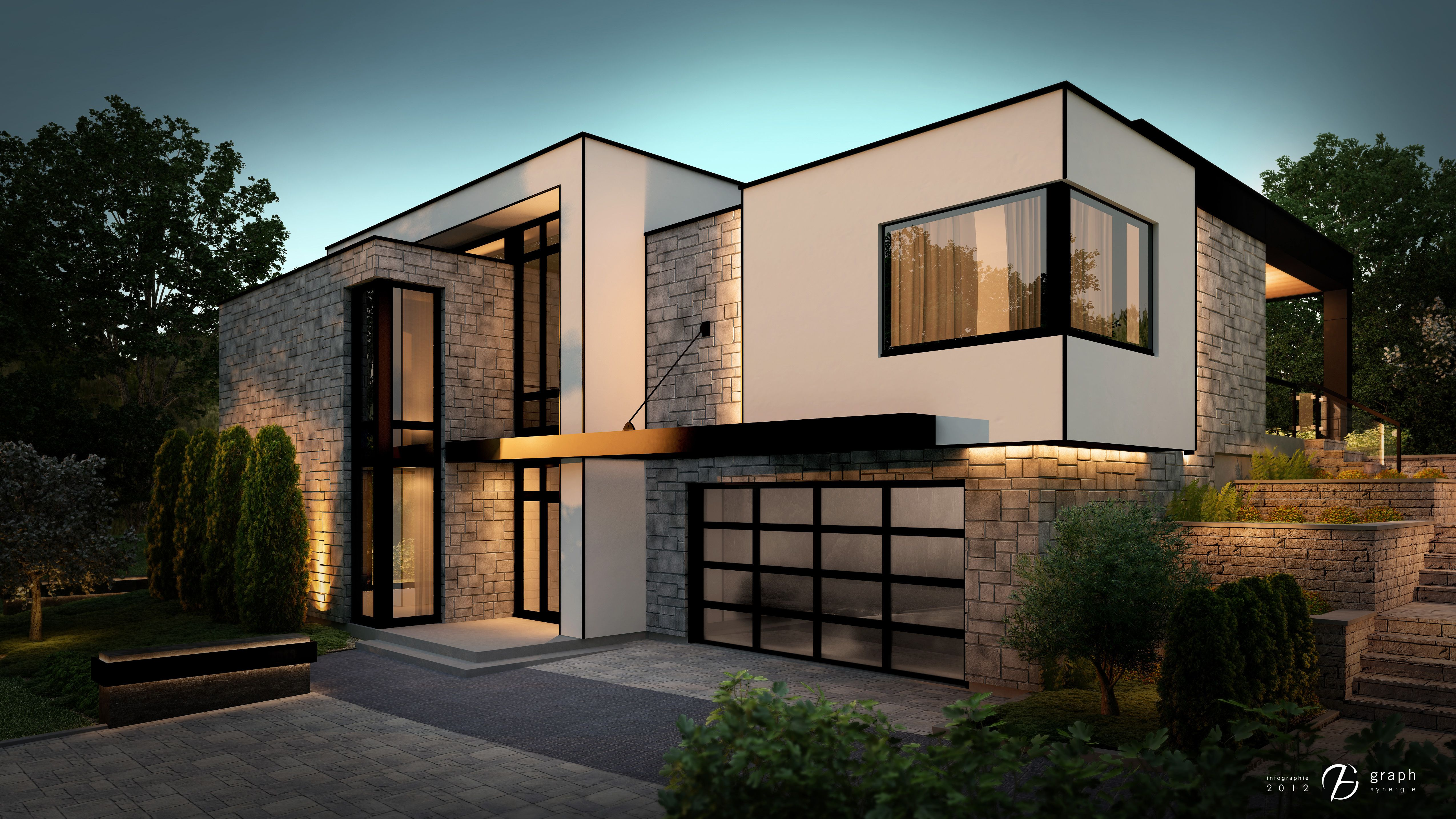 Plan Maison Moderne Bonneville