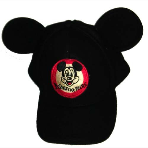 896765f1f5c2e Your WDW Store - Disney Baseball Cap - 3D Ears - Mickey Mouse Club -  Mousketeers