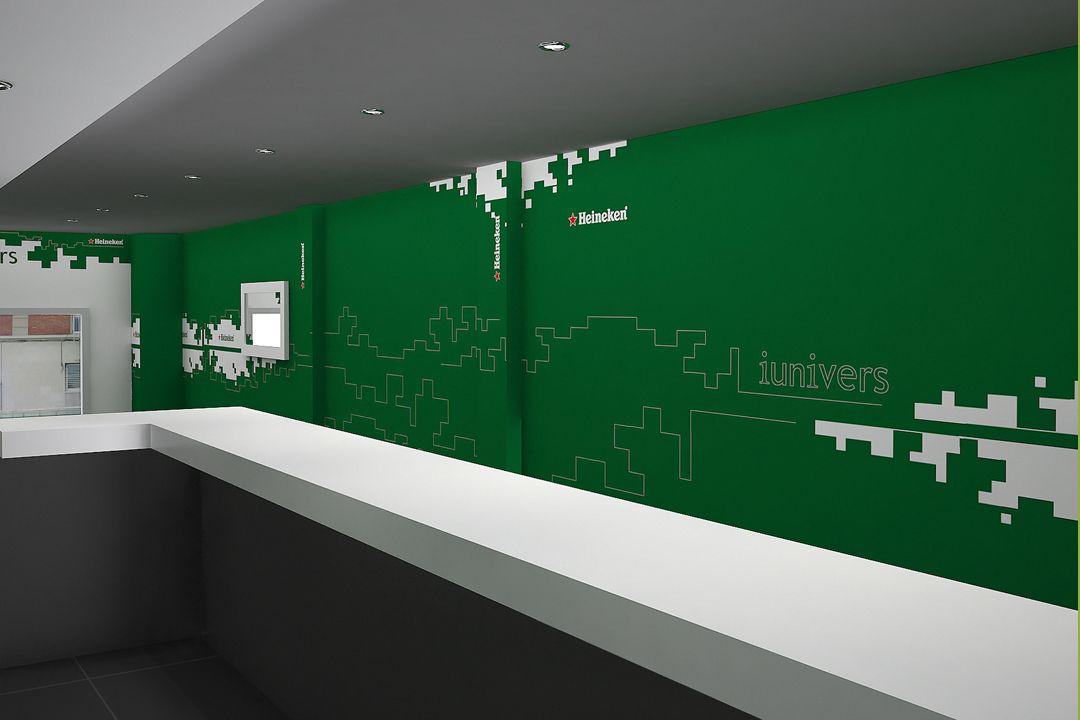 Dise o de interiores para la empresa heineken for Diseno interiores barcelona