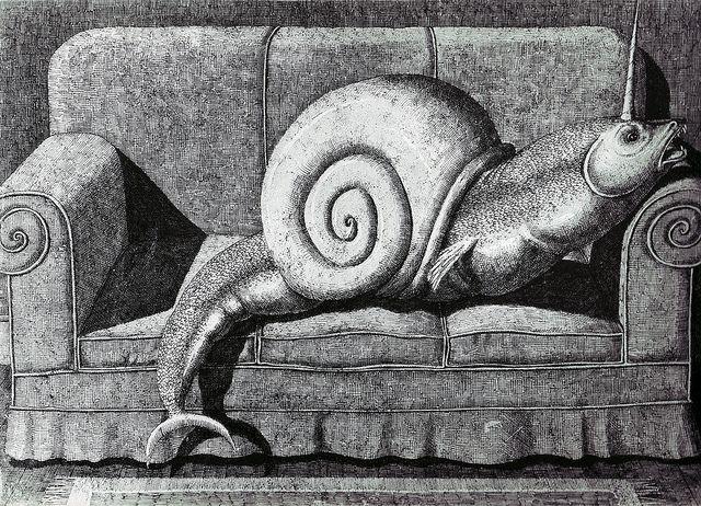 Domenico Gnoli - Modern Bestiary, 1968 (3) by Aeron Alfrey, via Flickr