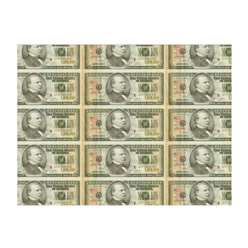 Million Dollar Bills Money Spread Background Lawn Sign Shipping To Phoenix Az