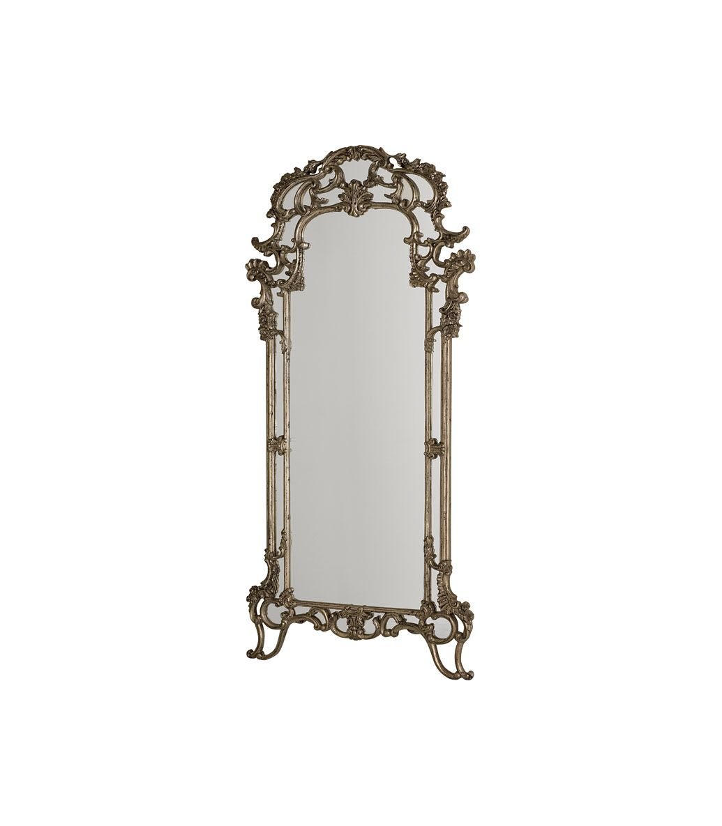 Jessica mcclintock by american drew 39 the boutique for Silver framed floor mirror