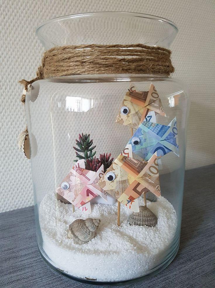 Gift ideas Giving away money, giving money, folding money as fish for a … – kiwiso.de  – Gif bilder