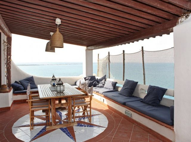 terrasse pergola vue mer deco bord de mer pinterest pergolas et design. Black Bedroom Furniture Sets. Home Design Ideas