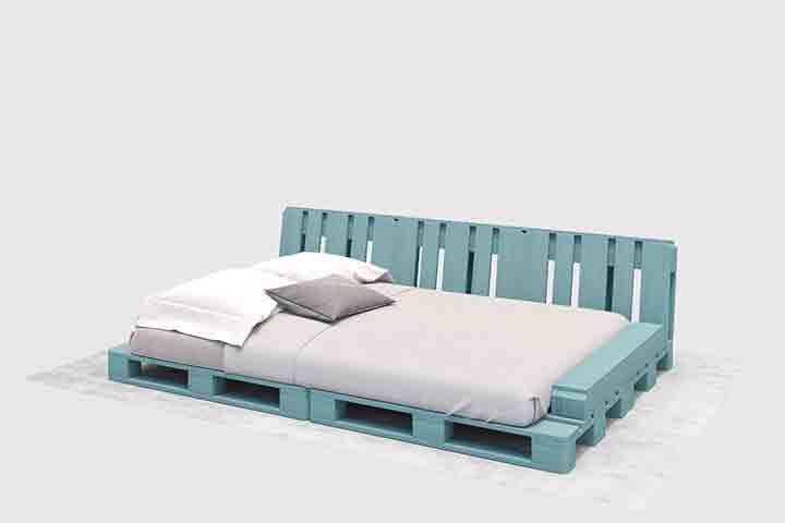 Bett Faulenzer Selber Bauen Alle Mobel Create By Obi Bett Aus Paletten Bett Paletten Couch