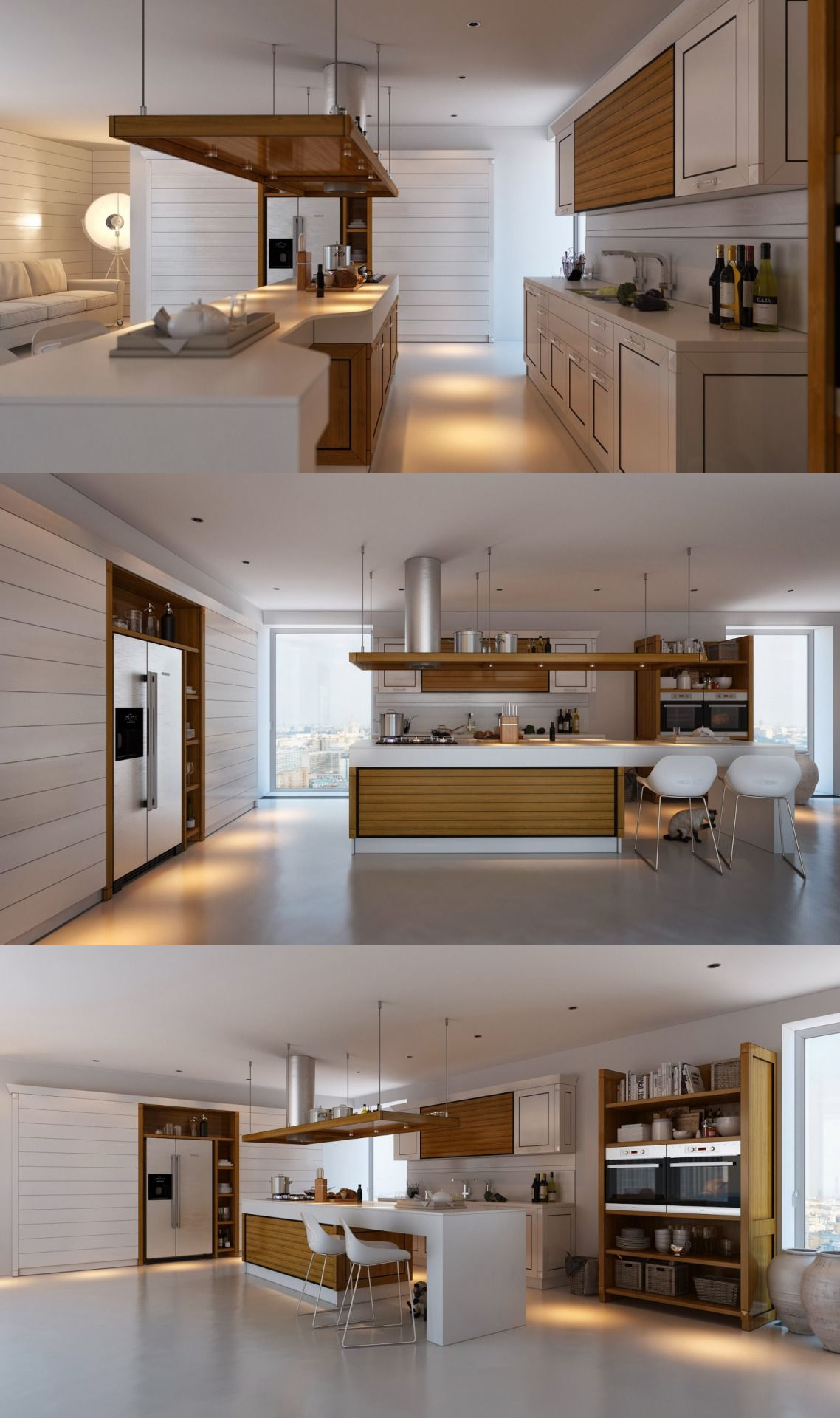 Designing A Kitchen Baltimore Remodeling Home Via Kitchens With Contrast Cocinas Pinterest