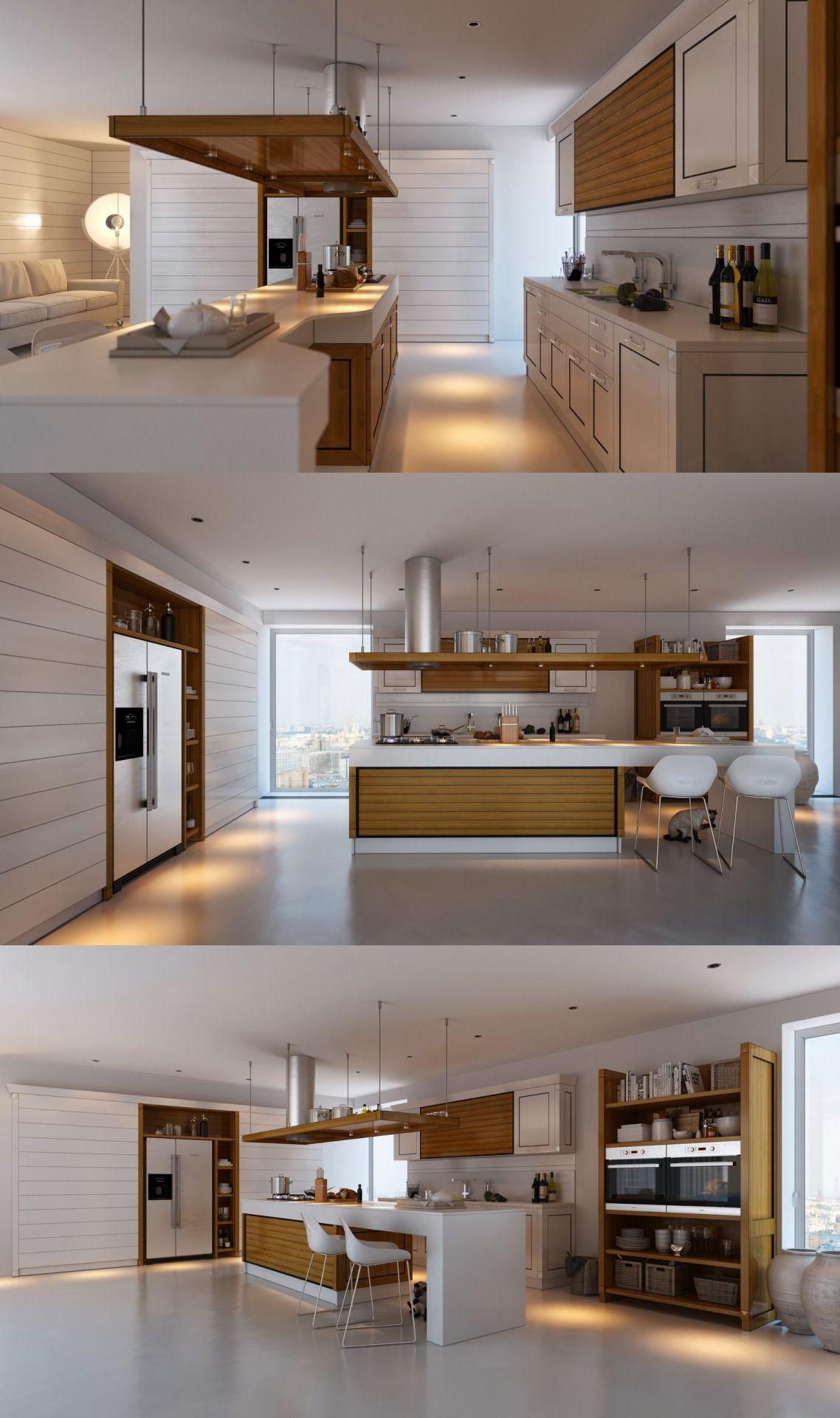 Home Designing U2014 (via Kitchens With Contrast) Studio Apartment, Apartment  Ideas, Sweet