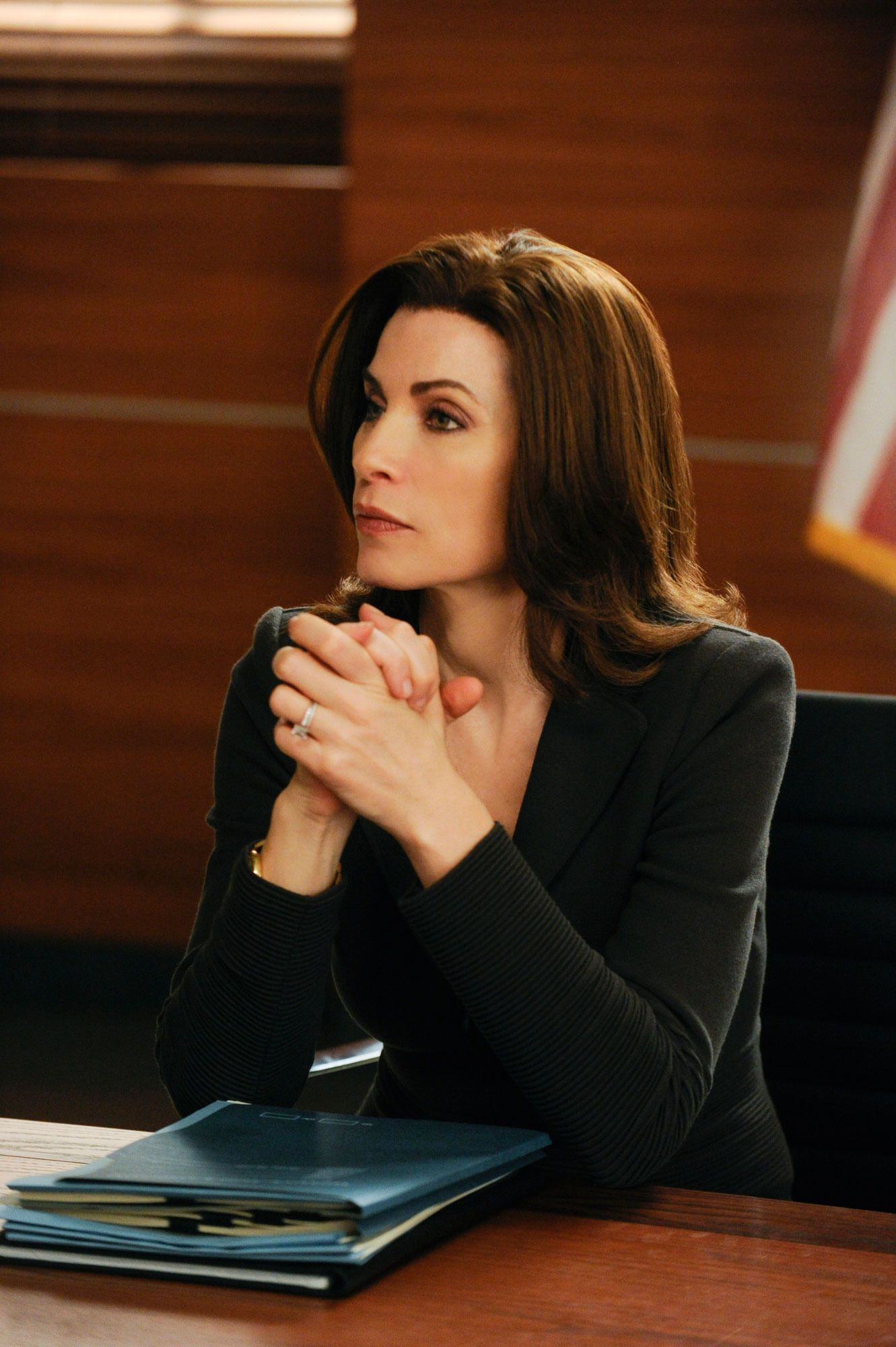alicia florrick in the good wife | all about hair in 2019