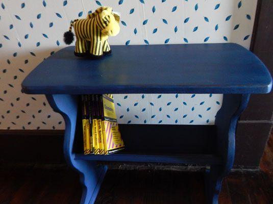 Comment peindre un meuble avec de la peinture ardoise Chalk paint - comment repeindre un meuble vernis