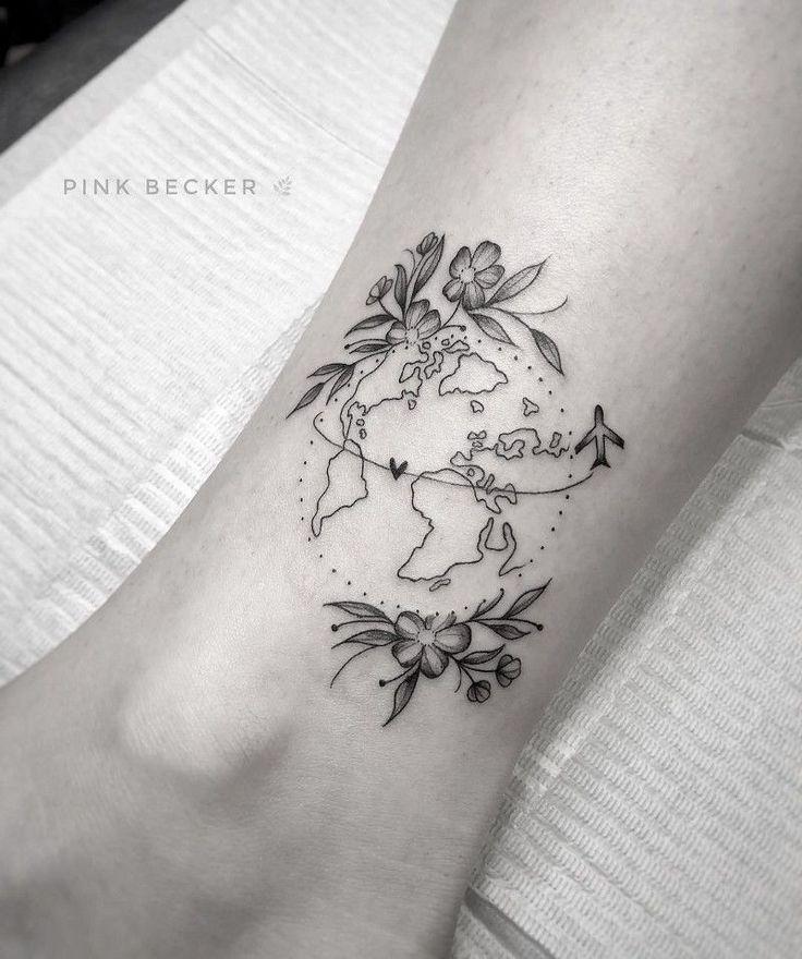 Photo of Reise-Tattoo? Sehen Sie, wer die Referenzen der Künstler im Thema sind. #beautytatoo … Che…