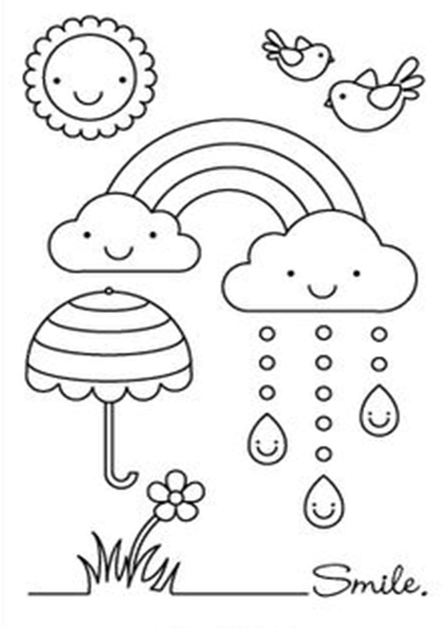 Free Easy To Print Rainbow Coloring Pages Coloring Pages Coloring Books Coloring Sheets