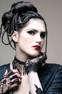 Coupes De Cheveux Gothiques Femmes Coiffure Gothique Homme