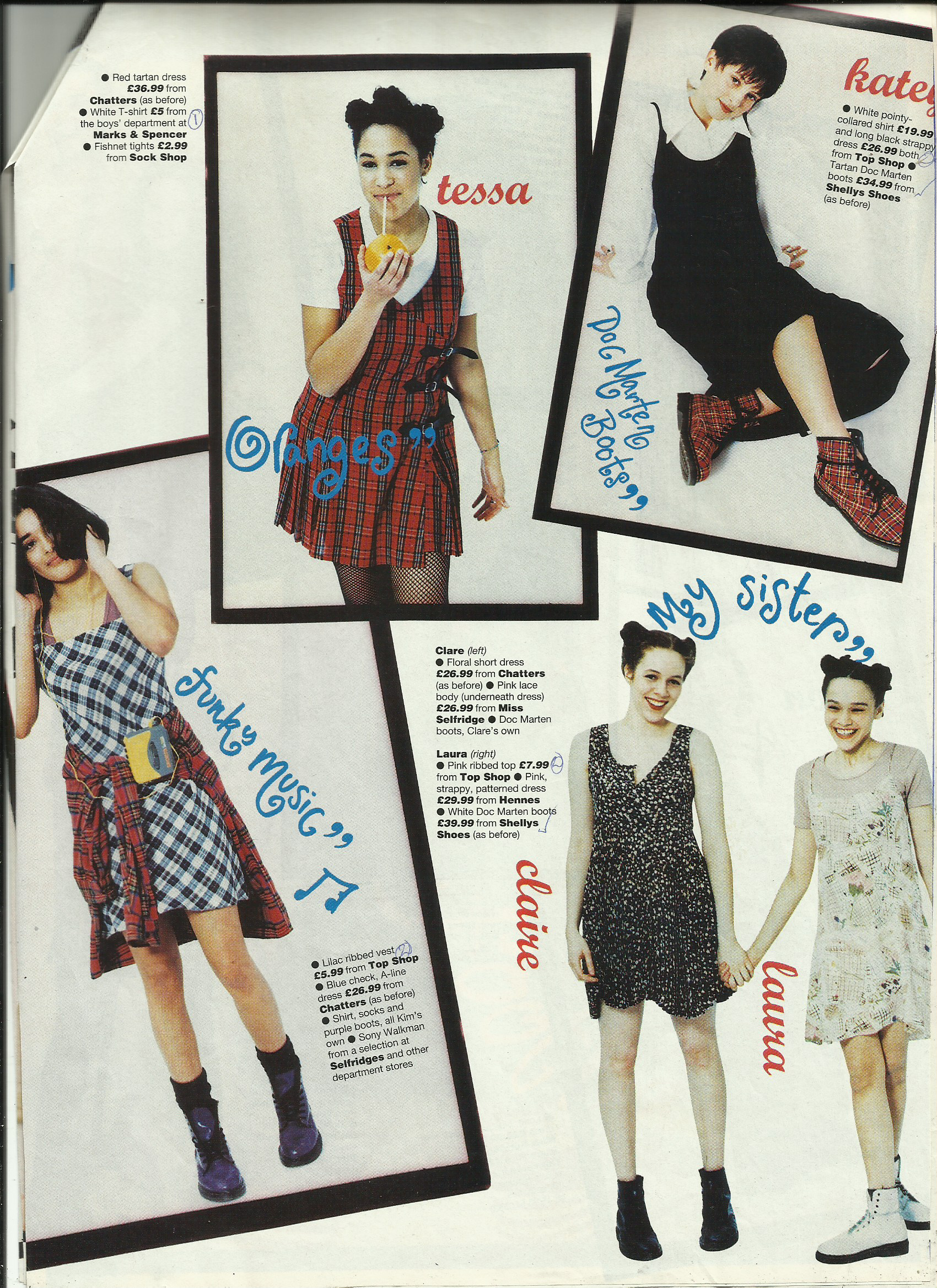 Just Seventeen Magazine 1994 I Remember Wanting All The Clothes That Were Used In This Photoshoot 90s Fashion 90s Fashion Grunge 90s Fashion Trending